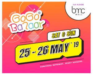 25 - 26 May 2019 - BMC Mall