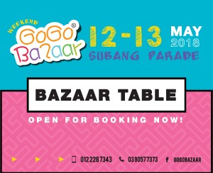 12 May 2018 - 13 May 2018 (Subang Parade Shopping Centre)