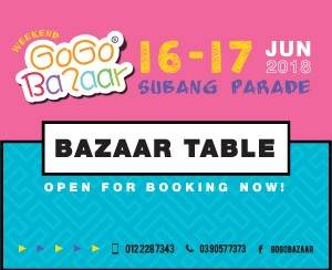 16 June 2018 - 17 June 2018 (Subang Parade Shopping Centre)