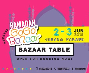 02 June 2018 - 03 June 2018 (Subang Parade Shopping Centre)