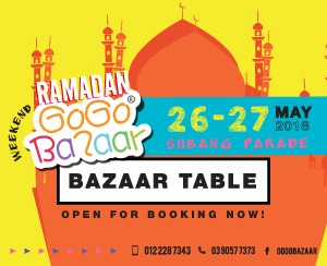 26 May 2018 - 27 May 2018 (Subang Parade Shopping Centre)