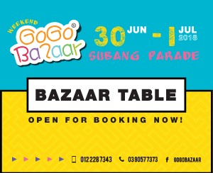 30 June 2018 - 01 July 2018 (Subang Parade Shopping Centre)